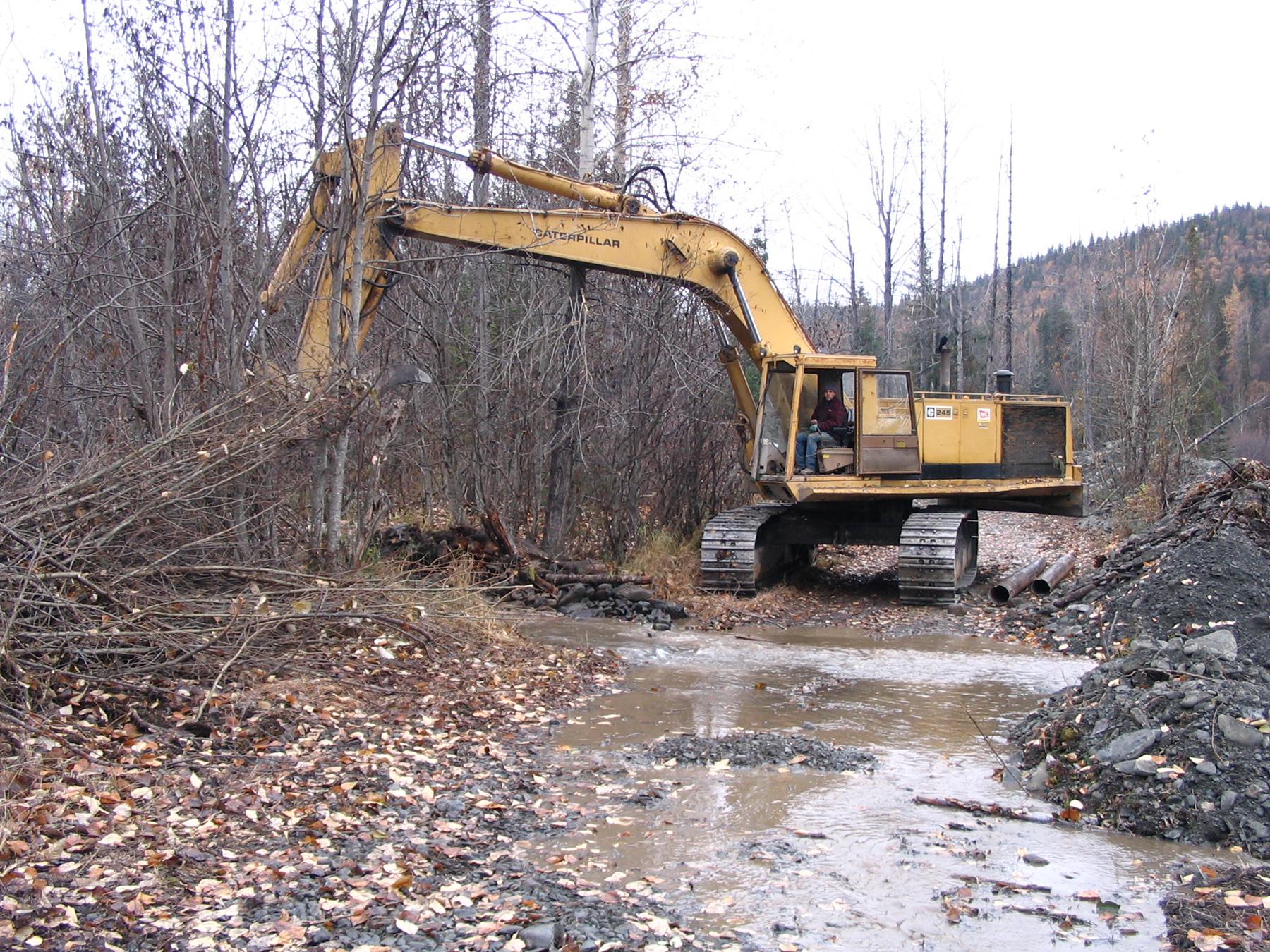 071013 Monte Working Pond by Gate
